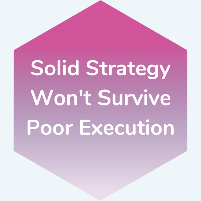 Solid Strategy Won't Survive Poor Execution